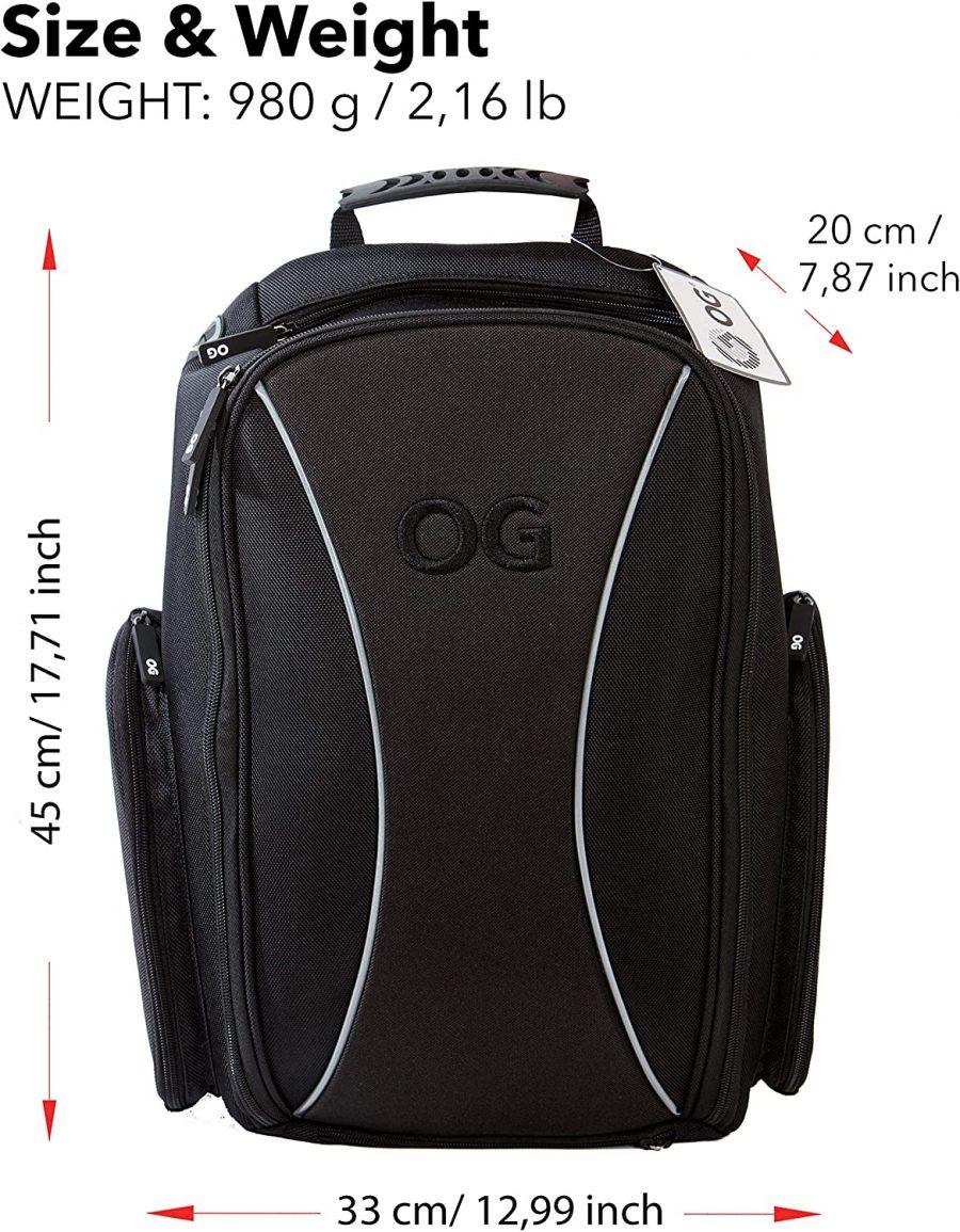 1 Mochila Moto OG Online & Go