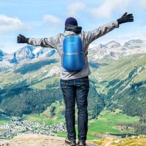 zomake mochila mujer hombre senderismo montana espalda
