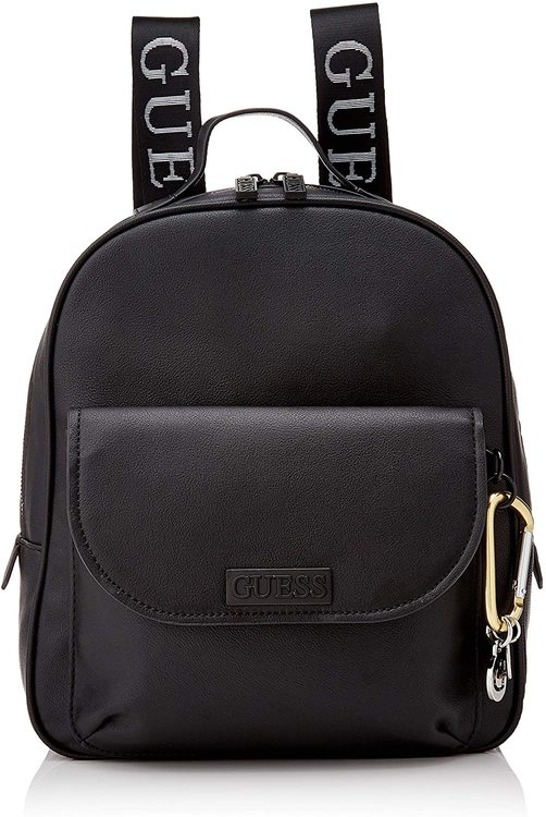 Guess Lane Large Backpack, Mujer, negro, talla única