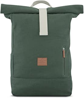Mochila Enrollable Verde Johnny Urban de Lona