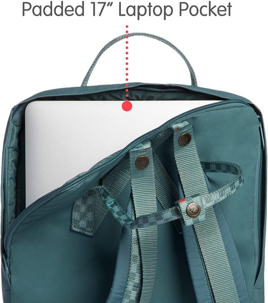 """Fjallraven KÃ¥nken Laptop 17"""" Backpack Unisex adulto"""