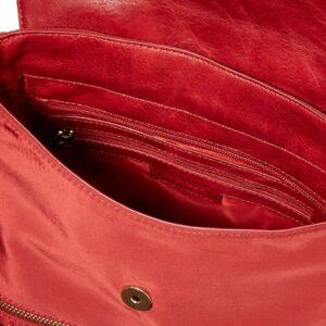 Desigual Accessories PU Backpack Medium, Mochila para Mujer, rojo, U