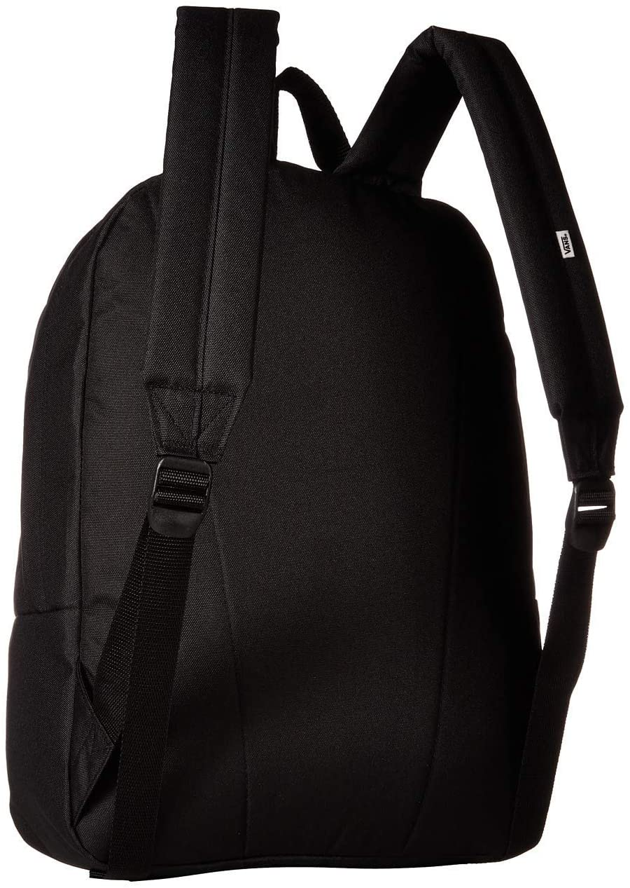 Vans Realm Backpack Mochila Mujer Tipo Casual, 42cm, 22L, Negro (Black) vista trasera