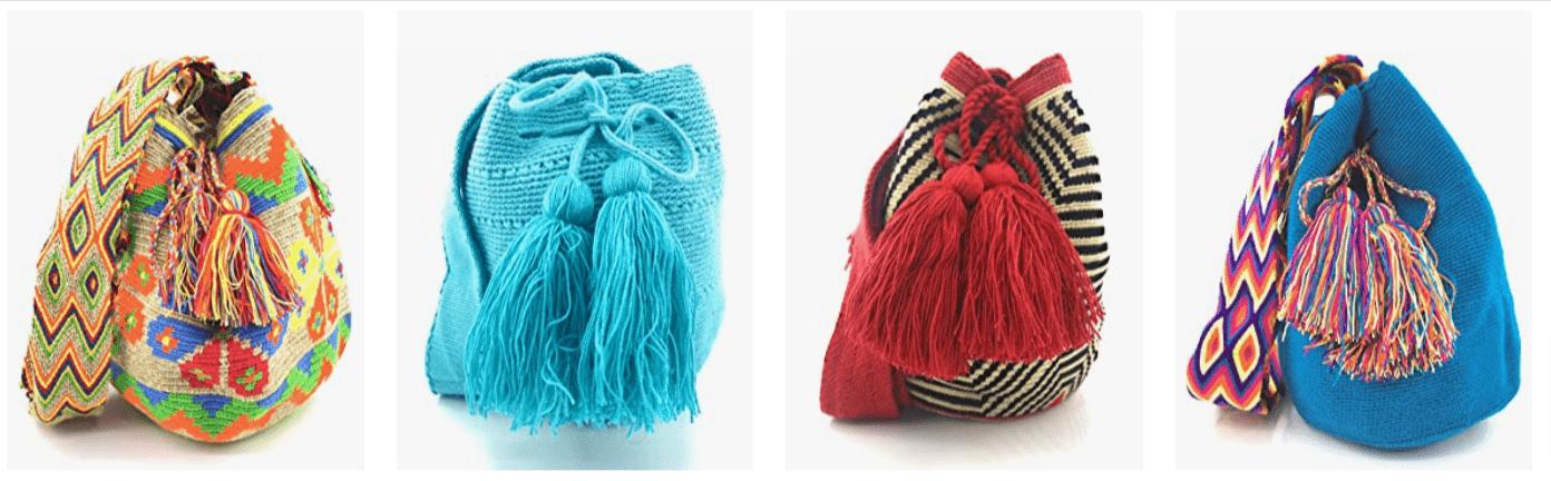 Mochilas Hippies para mujer, artesanales, chic, y étnicas. Comprar bolsos bandolera al mejor precio